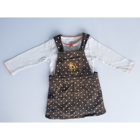 8c8f05819 Carter's Matching Sets | Girls Carters 12 Month Thanksgiving Outfit ...